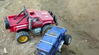 最新挖掘机视频表演10142大卡车运输挖土机+挖机工作+工程车