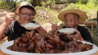 """140买7斤猪蹄,做一份""""麻辣猪蹄""""肉质细腻,软烂Q弹,够麻够辣"""