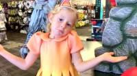 美国儿童时尚,小萝莉关于手指的有趣故事,爸爸懵啦