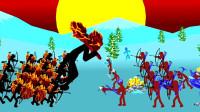 火柴人战争:挑战锦标赛疯狂级别的难度,我的实力应该可以得冠