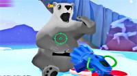 环保岛屿:寻找失踪的北极熊,这大哥太傲娇了吃东西都要我喂的