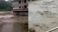 江西一水电站突发溃坝险情 洪水涌向房屋两村民遇难