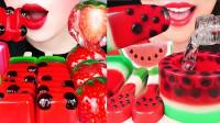 普通的西瓜竟然做的如此高大上,各种创意西瓜果冻,色彩搭配清凉一夏