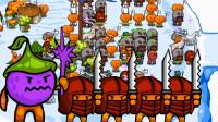 环形帝国2:南瓜竟然成精了,分分钟被打爆的辣鸡种族!