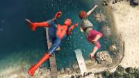 蜘蛛侠:水娃娃蜘蛛侠搞笑失败