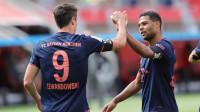 德甲-莱万刷新进球纪录 穆勒助攻双响 拜仁4-2逆转药厂