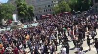 持续发酵!伦敦数千人走上街头参加反种族主义抗议