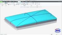 Creo自由式精选案例之矩形圆角弧面简便方法