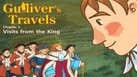 Little Fox小狐狸英语动画|格列夫游记3|小人国皇帝的探望|经典英文名著