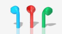 高质量Creo苹果AirPods耳机自由式曲面造型视频教程