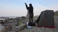 海边野营 篝火料理