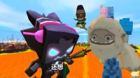 迷你世界魔幻大片《小肥龙与王老五冒险之旅》055:龙霸天大毛相遇联手,哼蛋哈蛋被魔王惩罚