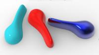 Creo外观曲面造型案例精讲之自由式曲面扳手造型