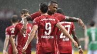 德甲-拜仁勇夺八连冠,莱万制胜球