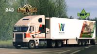 Steam创意工坊精品车【福莱纳Freightliner Argosy-ProMods-欧洲卡车模拟2】