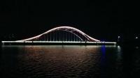 【拍客】彩虹桥的夜景