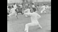 1936年中央国术馆十路弹腿练习