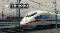 直呼太坑,预告限速没几秒就超速【ICE3M-德国法兰克福高铁线-模拟列车】