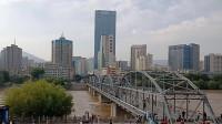 甘肃兰州:游百年老桥黄河铁桥(中山桥)
