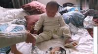河南:老五终于洗澡了,开始还有点不适应,感谢郑州爱心妈妈的无私奉献!