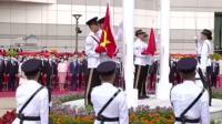 今天是香港回归23周年,香港湾仔金紫荆广场举行升旗仪式。香港,会更好!(央视新闻)