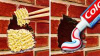【5分钟DIY】28种帮助解决家居的维修想法和设计!
