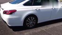 试驾2020款丰田皇冠混动版, 开车上路