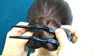 喜欢古风的女生这么盘发,精致又显贵气,如何盘长发?气质优雅发型,时尚盘发设计