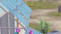 蓝少和平精英:三层阳台楼怎么打?只要学会这一招,萌新也能突袭满编队!