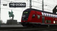 轨道太滑,沙子也挽救不了的驾驶技术【DABpbzkfa-德国科隆科布伦茨线-模拟列车】