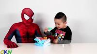 蜘蛛侠:有趣的恐怖的鲨鱼咬人游戏