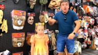美国儿童时尚,爸爸不给买漂亮的玩具,小萝莉生气啦!
