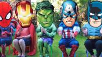 蜘蛛侠:超级英雄找面具!