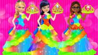哇,玛丽娜和蔻依都要穿漂亮公主裙?瓢虫雷迪游戏