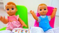 美国儿童时尚,弗拉德和尼基塔一起学习的故事,多么开心呢