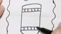 创意手工折纸第2135 期,简笔画