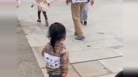 看到兵哥哥走过来,女儿接下来的举动,把我感动到泪崩!
