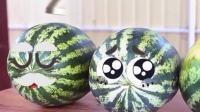 表情动画,这西瓜也太可爱了吧!