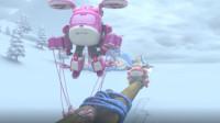 超级飞侠:小爱好难受啊,明明是个小姑娘,非得拉马车来控制住大家
