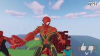 我的世界动画-如何造蜘蛛侠-NOOB MINERS
