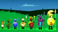 火柴人战争:挑战远古法师兵种,他们会召唤亡灵来对抗我