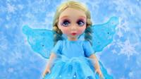 为芭比娃娃重新美妆打扮,还给它DIY了一对时尚闪亮小翅膀