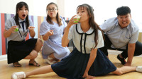 """老师自制各种""""重口味""""汁,没想王大九竟一连喝三杯!太厉害了"""