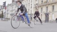 外国小哥发明漂移自行车,售价高达1万竟卖断货,成街头时尚!