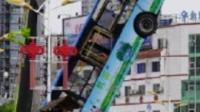 贵州坠湖公交事故搜救出37人 其中21人无生命体征