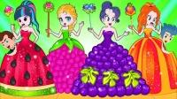 女孩们涂上不同颜色的口红  小马国女孩游戏