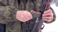 二战著名的SKS半自动步枪,原来是这样装弹的,一次5发!