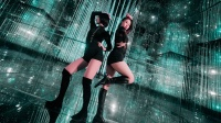 小姐姐们在网红打卡地艺术馆里性感热舞是一种什么画面,没撩到你算我输!
