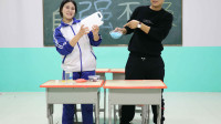 学霸王小九校园剧:王小九玩无硼砂泥,没想教导主任也想学做水晶泥,结果成功了吗?