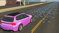 玻璃碎片对汽车的损害有多大?3D模拟实验,全程高能别眨眼!